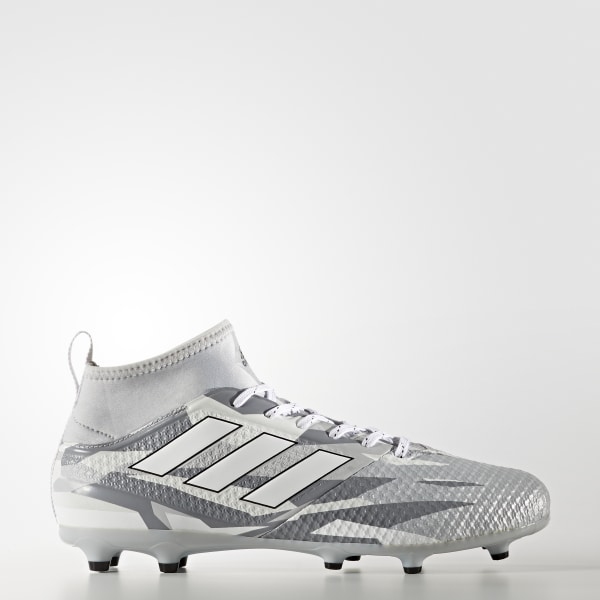 94cc0c742 ACE 17.3 Primemesh Firm Ground Cleats Clear Grey   Cloud White   Core Black  BB1015