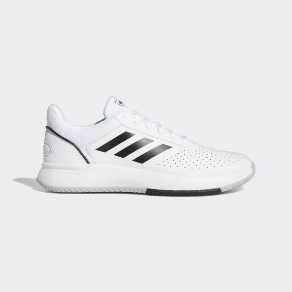 adidas Core Damen Tennis Schuhe Courtsmash schwarz   eBay