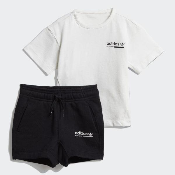 adidas Kaval Shorts Set White | adidas UK