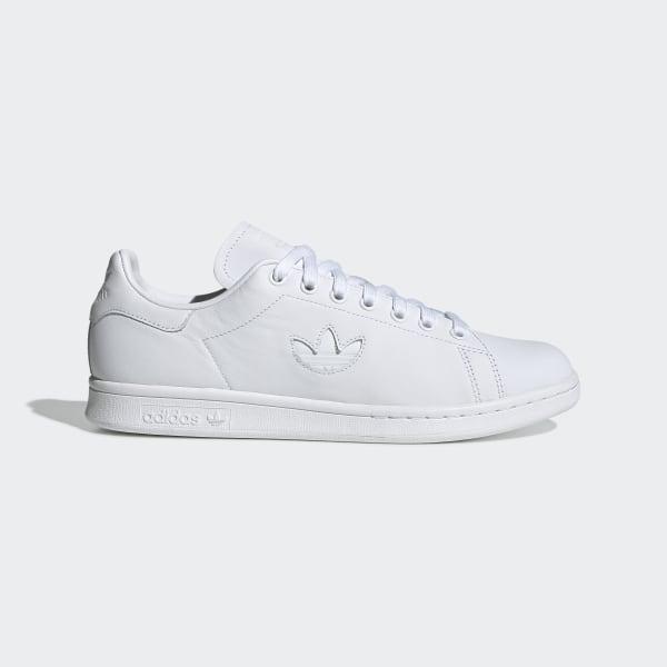 Adidas Originals Stan Smith Baskets à logo trèfle Blanc