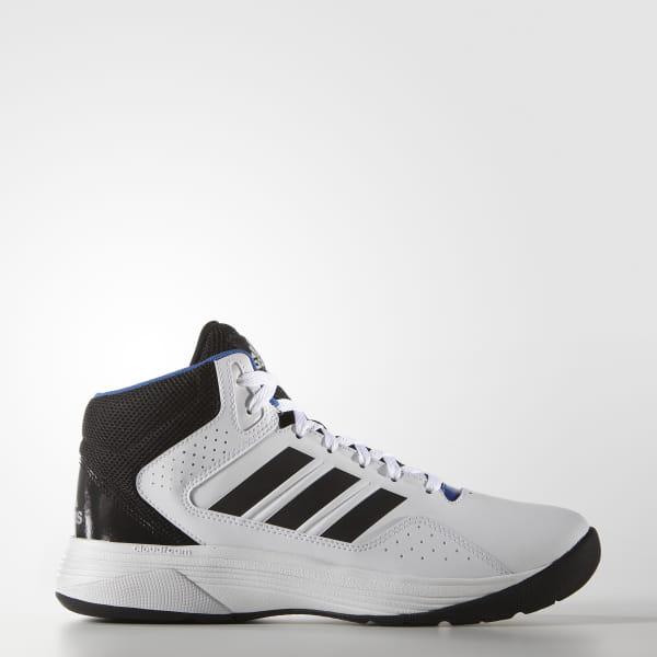 4dacdeb4a82c Cloudfoam Ilation Mid Shoes Cloud White   Core Black   Matte Silver AQ1361