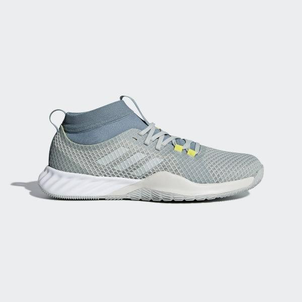 fd4e9375f Crazytrain Pro 3 Shoes Ash Silver / Raw Green / Shock Yellow AQ0415