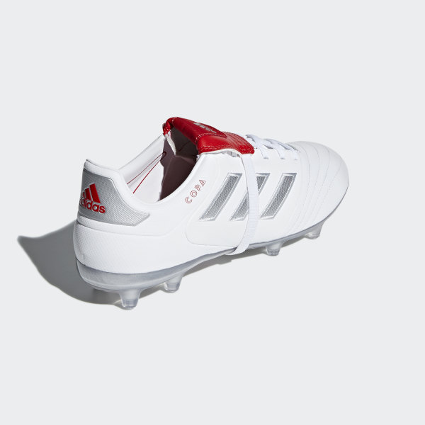 9b16823e238 Copa Gloro 17.2 Firm Ground Boots Ftwr White   Silver Met.   Red DB3428