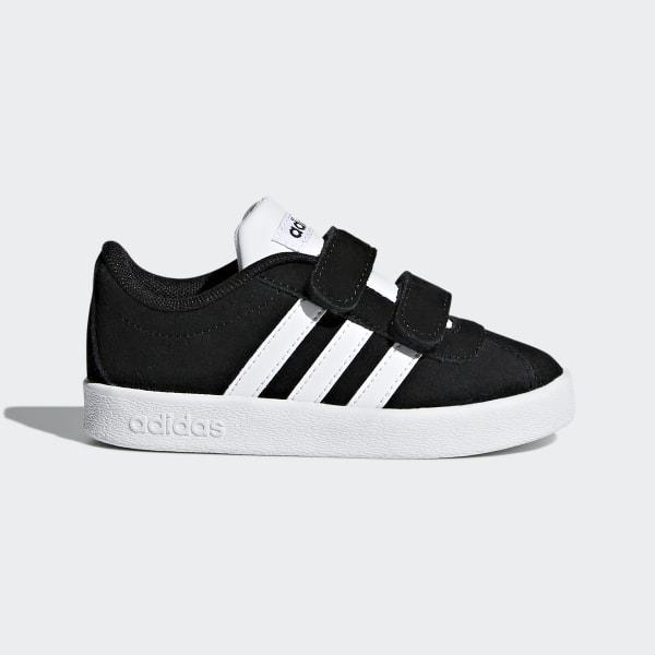 adidas VL Court 2.0 Shoes Black | adidas Canada