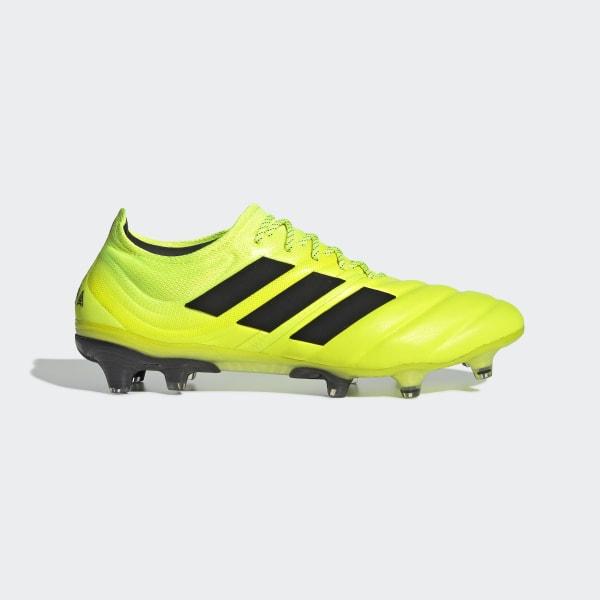 Chaussure Copa 19.1 Terrain souple Jaune adidas | adidas France