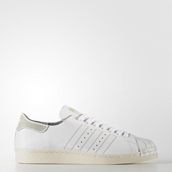 low priced 5b647 75966 Chaussure Superstar 80s Decon Footwear White   Footwear White   Vintage  White BZ0109