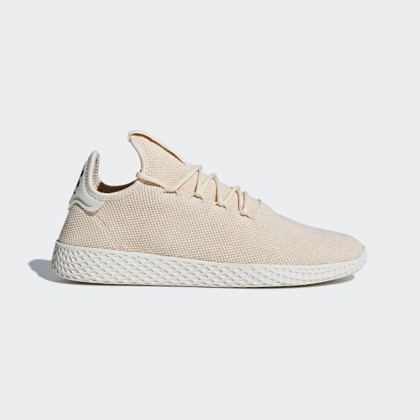 36dfa88637d9f2 Pharrell Williams Tennis Hu Schoenen Linen   Linen   Chalk White AC8699