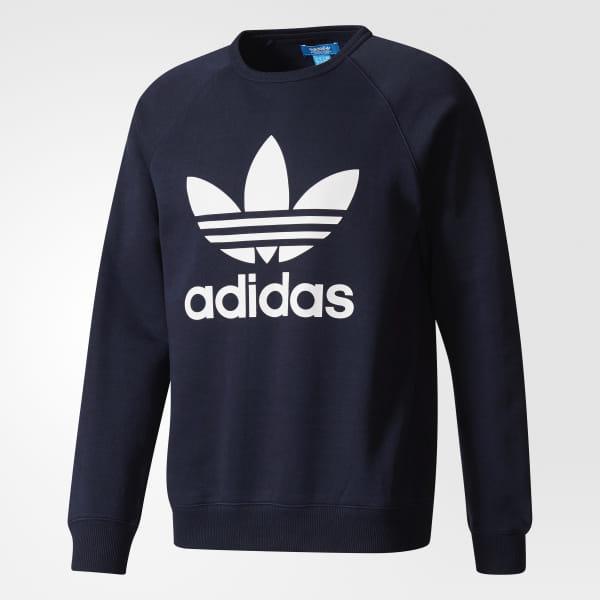 cb7d1253eded adidas Men's Trefoil Sweatshirt - Blue | adidas Canada