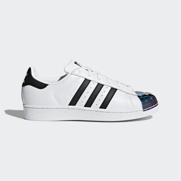 Adidas Originals Superstar Metal Toe Schwarz Weiß Schuhe