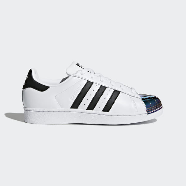 adidas Superstar Metal Toe Shoes - White