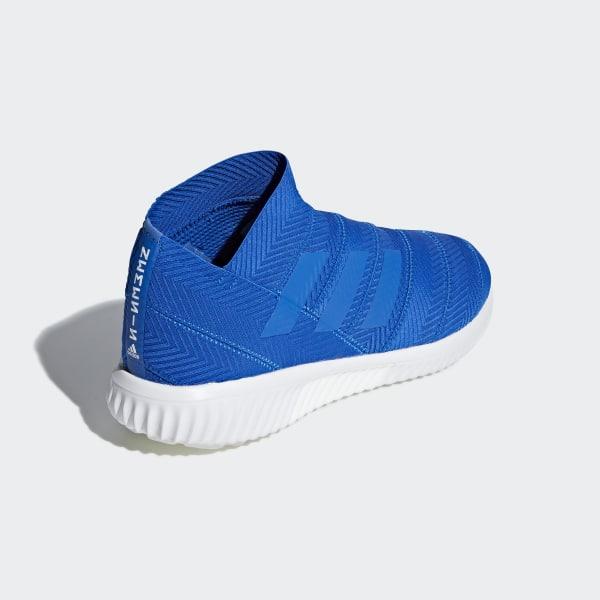 5d1695967 Nemeziz Tango 18.1 Trainers Football Blue   Football Blue   Ftwr White  AC7355