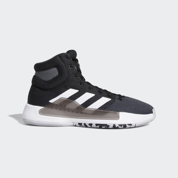 f75e33e72e59 Pro Bounce Madness 2019 Shoes Core Black   Cloud White   Grey BB9239