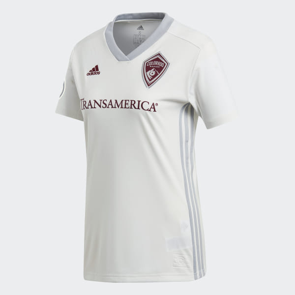 cheap for discount a5c8d c2913 adidas Colorado Rapids Away Jersey - White | adidas US