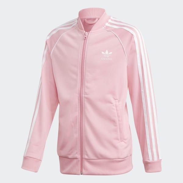 adidas SST Track Jacket Pink | adidas US