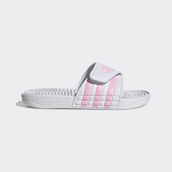 2445918db8 adidas Adissage Slides - White | adidas US