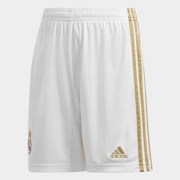 8f18f940a adidas Real Madrid Home Shorts - White | adidas Ireland