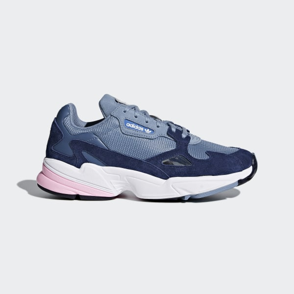 Adidas Falcon Shoes Blue Adidas Us