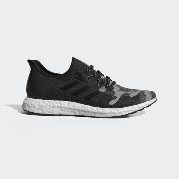 1489b4e3 SPEEDFACTORY AM4 L.A. Aaron Kai Shoes Core Black / Cloud White / Grey EG7484