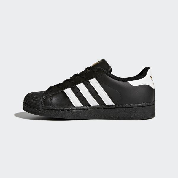 promo code 5c30a b22c6 adidas Superstar Foundation Shoes - Black | adidas US