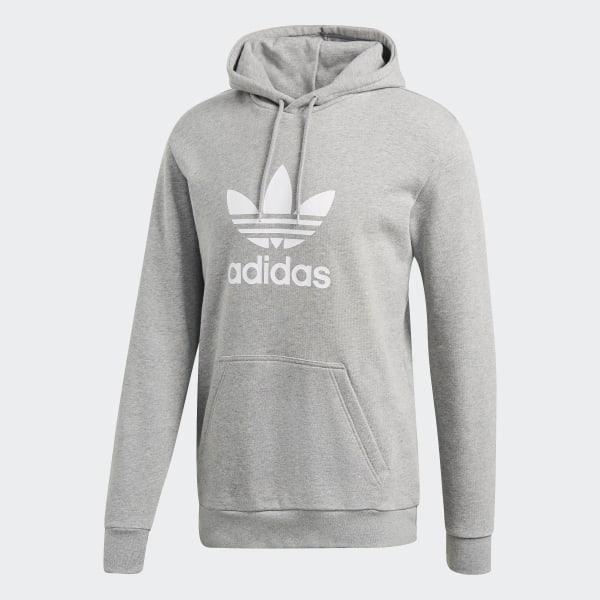 size 40 a5550 e2467 Trefoil Hoodie Medium Grey Heather DT7963