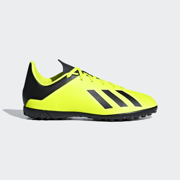 cf565dc67fef X Tango 18.4 Turf Boots Solar Yellow / Core Black / Solar Yellow DB2435