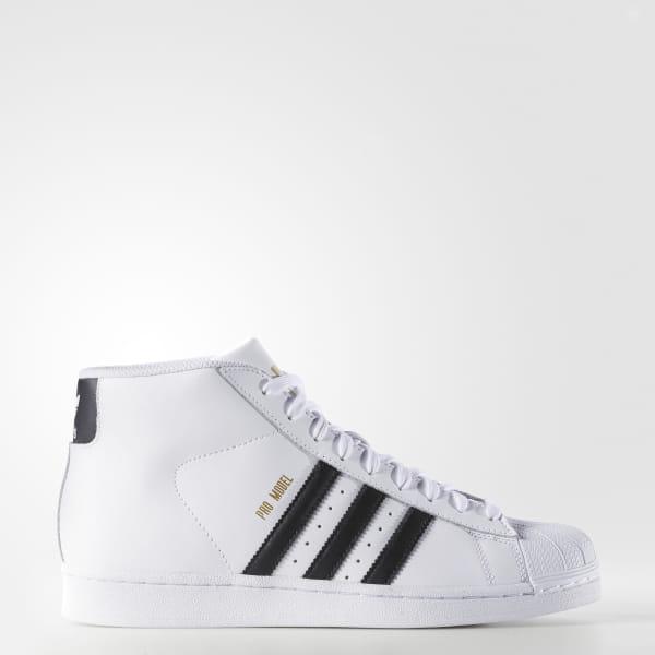super populaire c0b33 6a1f6 adidas Men's Pro Model Shoes - White | adidas Canada