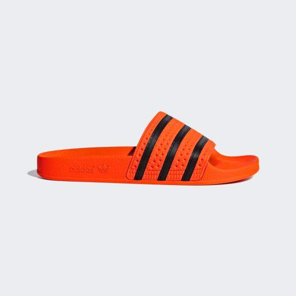 official photos 8c8bf 34221 Adilette Slides Active Orange   Core Black   Active Orange CM8442