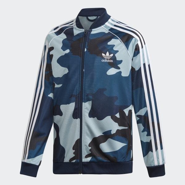 a32bfa7e61 adidas Camouflage SST Track Jacket - Multicolor | adidas US