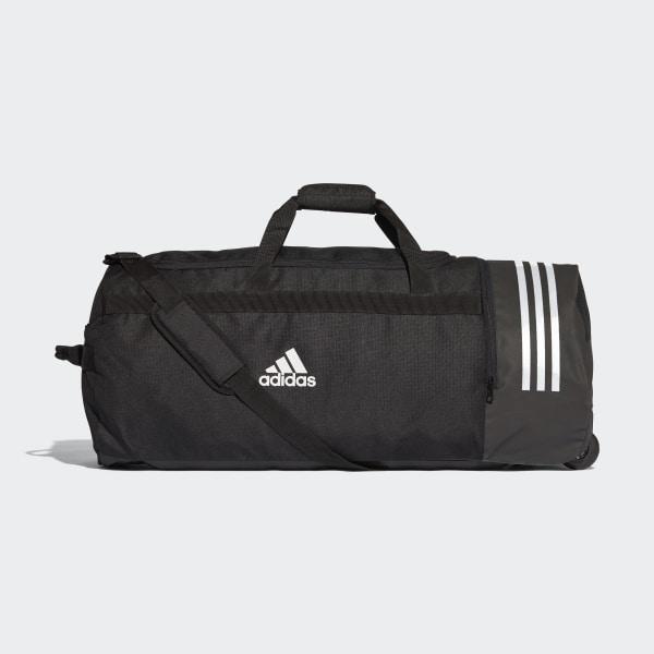 aa3d08711da9 adidas 3-Stripes Wheeled Duffel Bag Extra Large - Black | adidas Australia