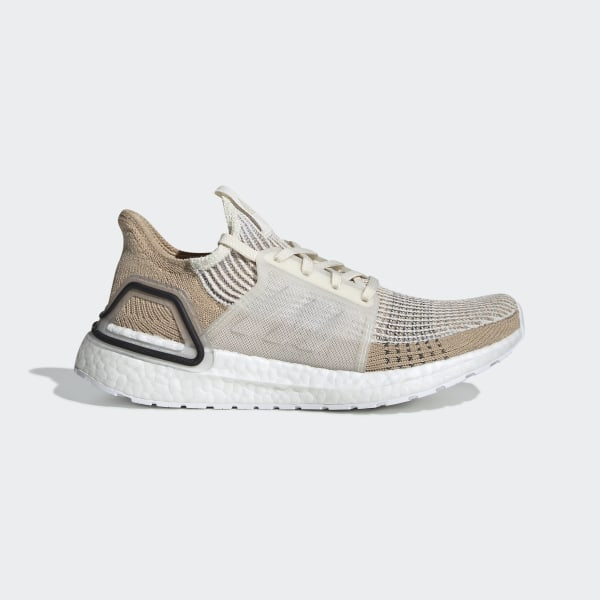 differently 92673 d1ff3 Ultraboost 19 Shoes Chalk White   Pale Nude   Core Black B75878