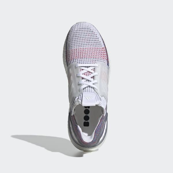 da7cdb73404 Ultraboost 19 Shoes Ftwr White   Crystal White   Blue B37708