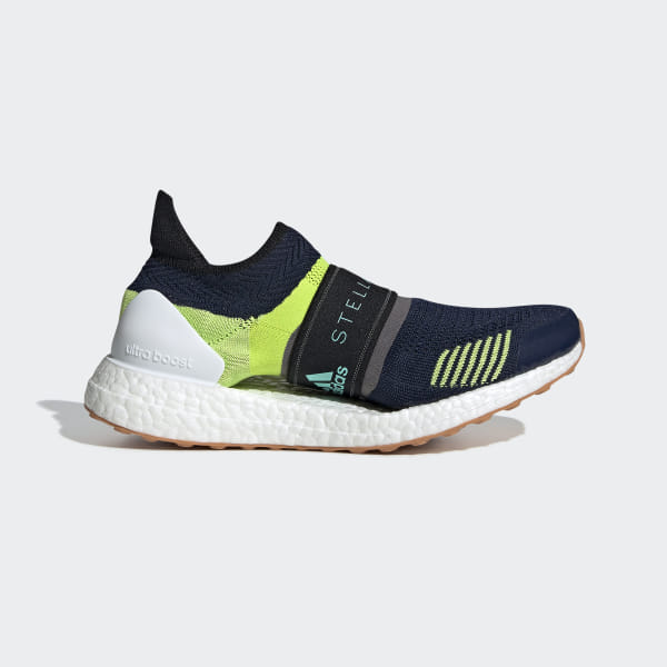 d1fab02b8f15 Ultraboost X 3D Shoes Night Indigo / Vivid Green / Granite BC0313