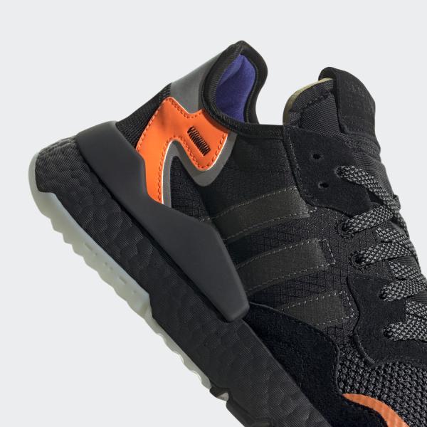 Adidas Nite Jogger Scarpe Core Nero Carbon Uomo Blu Active