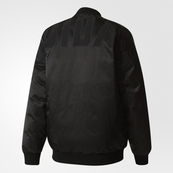 8cf542faa adidas Mid Bomber Padded Jacket - Black | adidas US