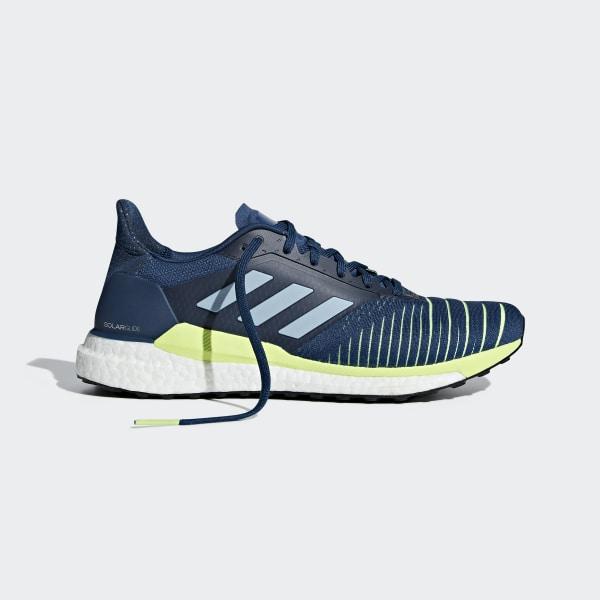 new style 299cb cf8d4 Solar Glide Shoes Legend Marine   Ash Grey   Hi-Res Yellow D97436