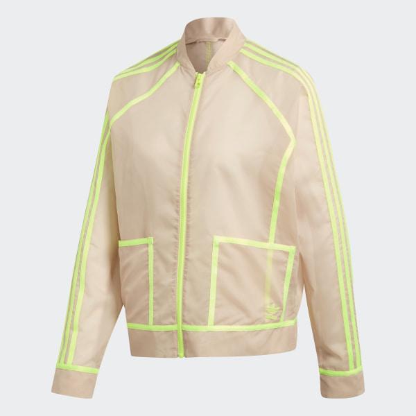 8148ea5f55e adidas AA-42 Track Jacket - Beige | adidas Australia