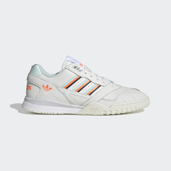 free shipping 7c1cf f7ab5 A.R. Trainer Shoes Cloud White   Ice Mint   Solar Orange D98157