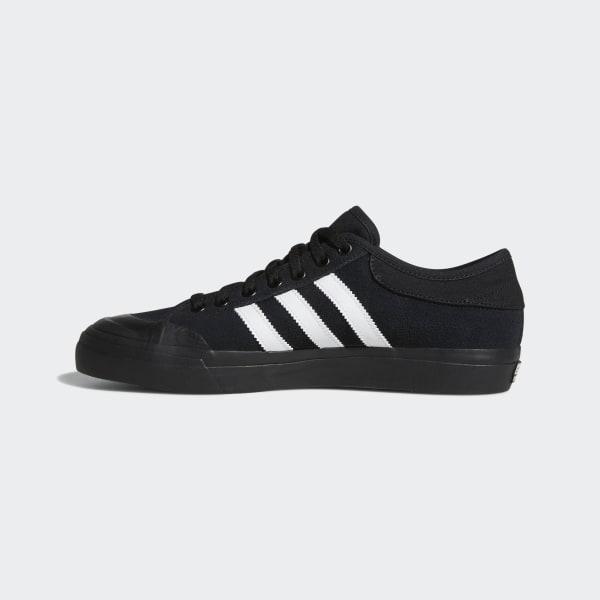 adidas Zapatillas Matchcourt Negro Ante detalle de tres