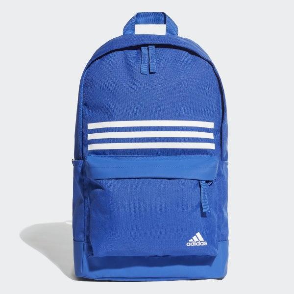 355517d61824 Рюкзак Classic 3-Stripes Pocket bold blue / bold blue / white DT2618