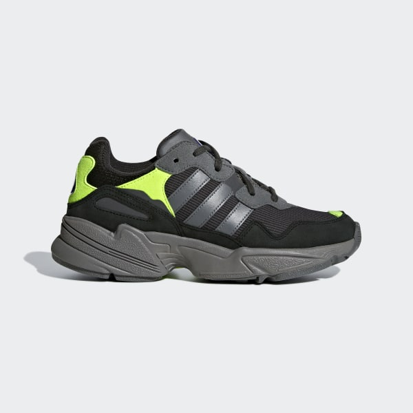 reputable site db6d3 e62b4 Yung-96 Shoes Carbon   Grey Four   Solar Yellow G27413