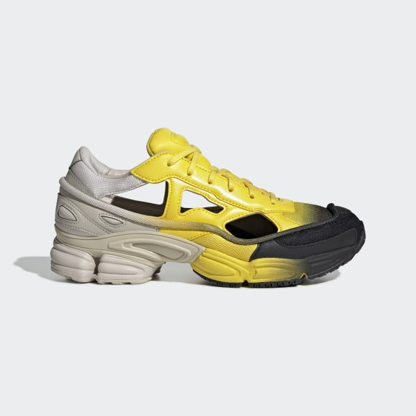 45ab95e58 RAF SIMONS REPLICANT OZWEEGO Clear Brown / Yellow / Yellow EE7931
