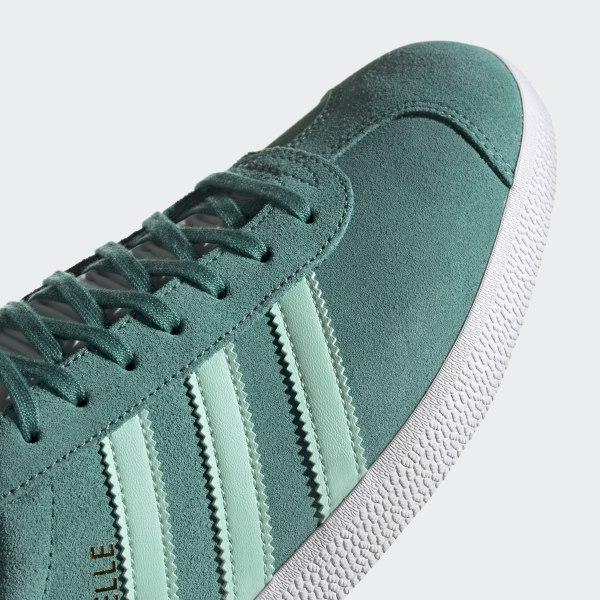 meilleur service 92b61 0b055 adidas Gazelle Shoes - Green | adidas UK