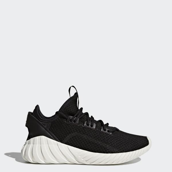 adidas Youth Tubular Doom Sock Shoes - Black