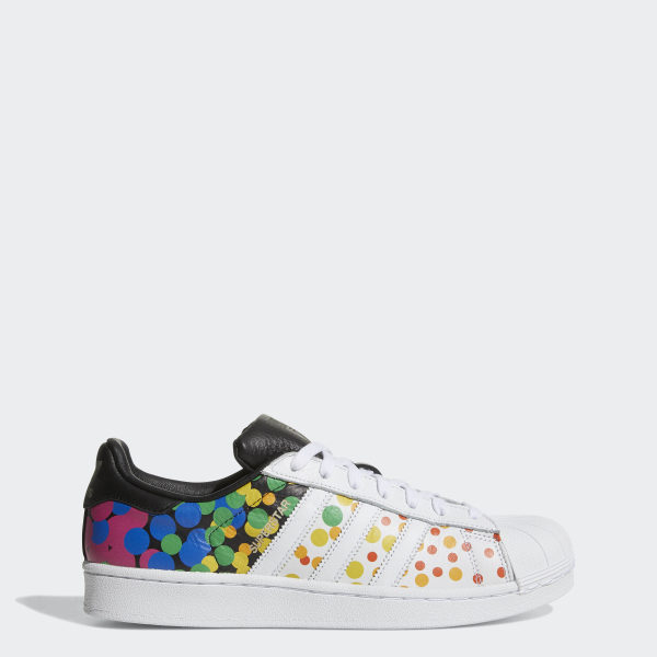 new arrival 05cb8 99fab adidas Pride Pack Superstar Shoes - White | adidas US