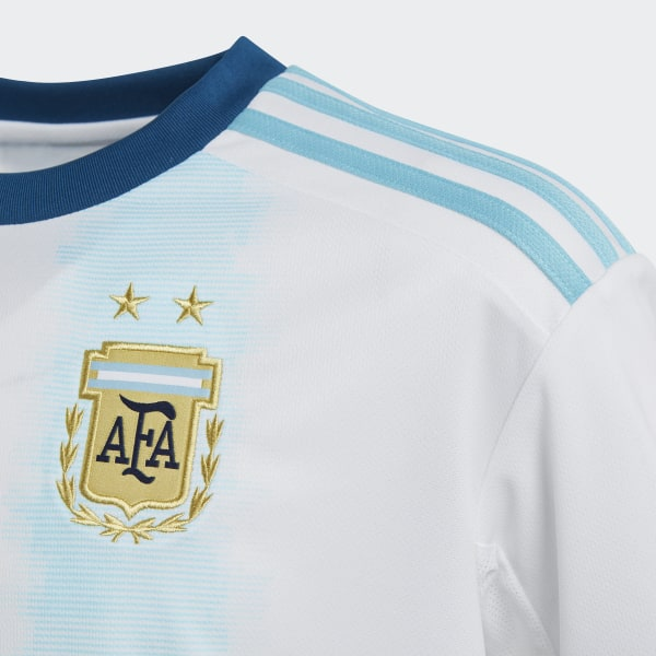f94a7276b Argentina Home Jersey White   Light Aqua DP2839
