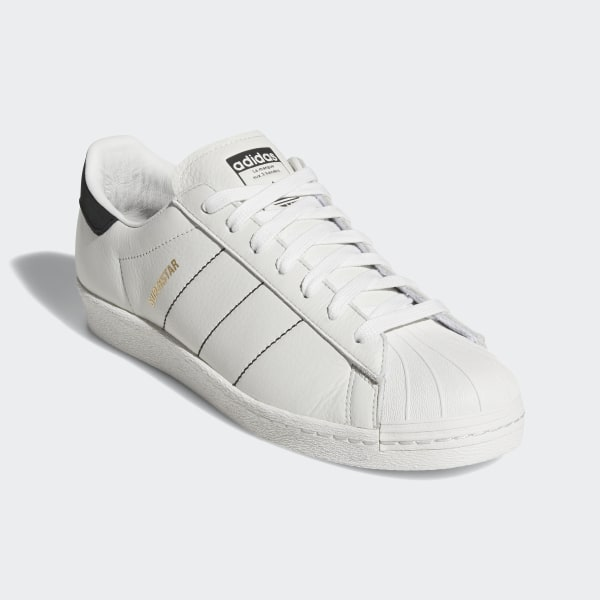 buy online 331b4 4b095 Superstar 80s Shoes Off White   Core Black   Off White CQ2653