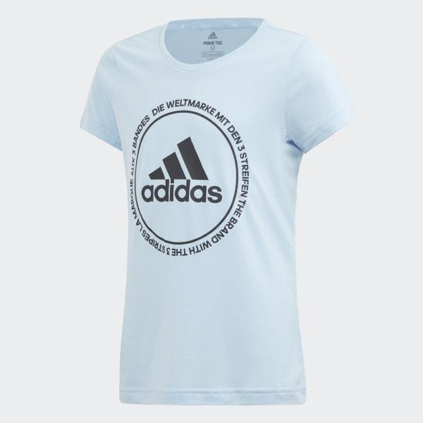 2e22632464f adidas Prime T-Shirt - Blue | adidas UK