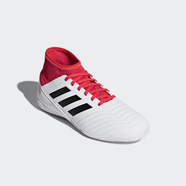 79ad2f180d2 Predator Tango 18.3 Indoor Boots Ftwr White   Core Black   Real Coral CP9073