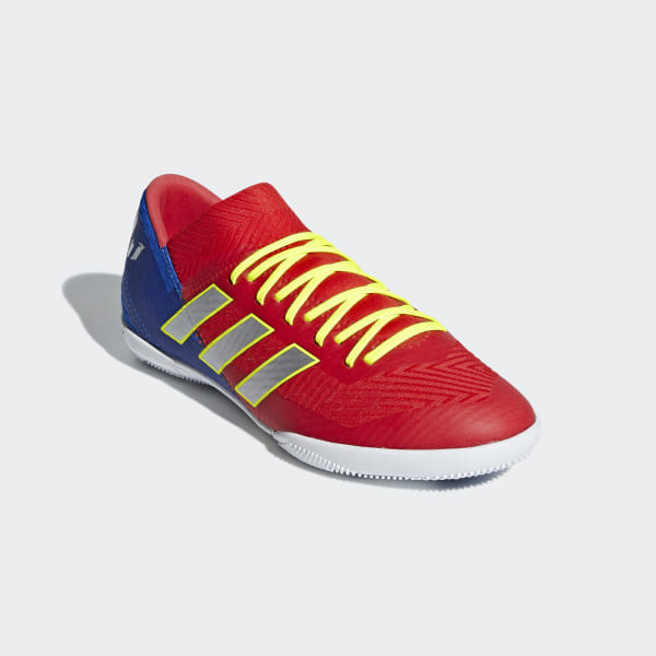 9fd804d4e71cf adidas Nemeziz Messi Tango 18.3 Indoor Shoes - Red   adidas US
