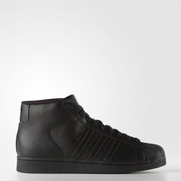 f101e89b0f98 Pro Model Shoes White / Core Black / Core Black S85957